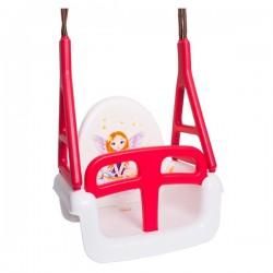 Detská hojdačka 3v1 car 3v1 princess Swing