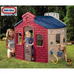 Domček s hrami Little Ružový