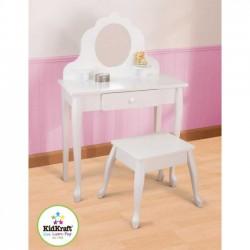 Drevený kozmetický stolček stredný