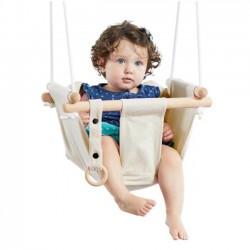 Detská textilná hojdačka