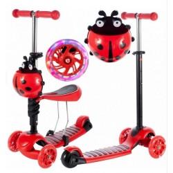 Detská kolobežka 2v1 Ladybird