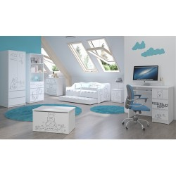 Detská izba Medvedík Pú