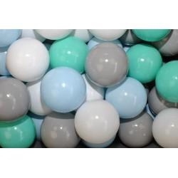 Náhradné balóniky do bazéna - 200 ks, mix
