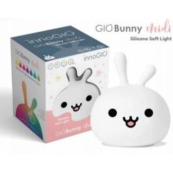 Prenosná silikónová lampička - Bunny