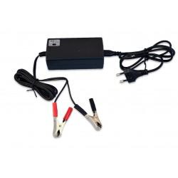Nabíjačka gelových a olovených batérií 6V alebo 12V s LED diodou nabitia baterie, Vipow 1132