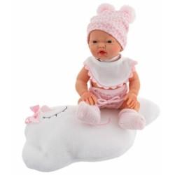 Luxusná bábika Golosinas na mráčiku s vôňou vanilky - 26 cm