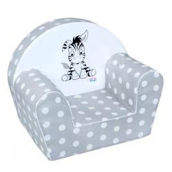 Detské kreslo Zebra
