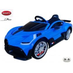 Elektrické autíčko Bugatti Divo s 2.4G DO, USB, LED