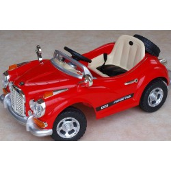 Luxusný Oldtimer 12V red